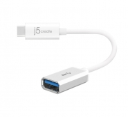 JUCX05J USB3.1 Type-C to Type-A Adapter