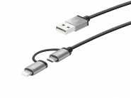 JML10 Micro-USB Cable with Lightning Adapter (2-in-1)