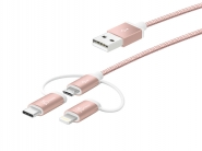 JMLC10 3-in-1 Charging Sync Cable