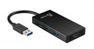 JUH450 USB 3.0 HDMI & 3-Port HUB