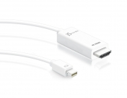 JDC159 4K HDMI Mini DisplayPort Cable
