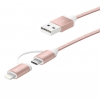 JML10 2-in-1 Charging Sync Cable