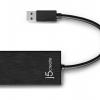 JUH470 USB 3.0 Gigabit Ethernet & 3-Port HUB