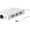 JCH471 USB Type-C Gigabit Ethernet & HUB Multi Adapter